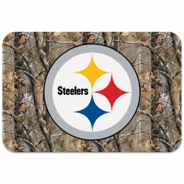 Pittsburgh Steelers 20 x 30 Mat (Realtree)