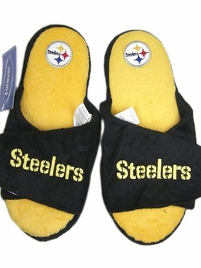 Pittsburgh Steelers 2011 Open Toe Hard Sole Slippers