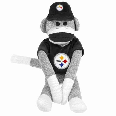 Pittsburgh Steelers 2013 27 Uniform Sock Monkey