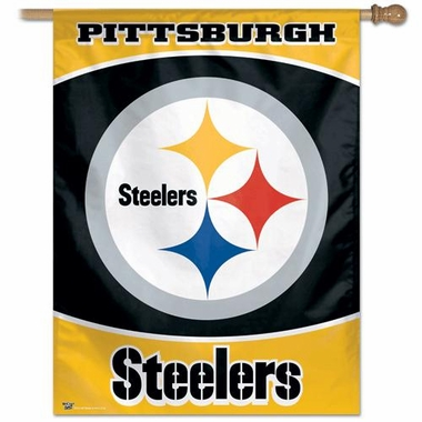 "Pittsburgh Steelers 27""x37"" Banner"