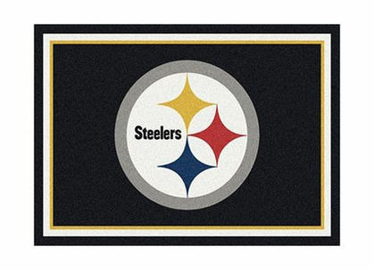 "Pittsburgh Steelers 3'10"" x 5'4"" Premium Spirit Rug"