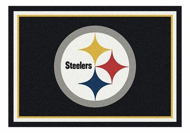 "Pittsburgh Steelers 5'4"" x 7'8"" Premium Spirit Rug"