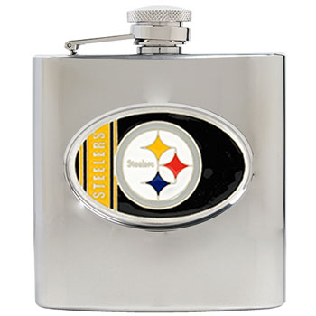 Pittsburgh Steelers 6 oz. Hip Flask
