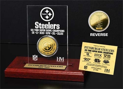 Pittsburgh Steelers Pittsburgh Steelers 6x SB Champs Etched Acrylic