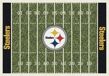 "Pittsburgh Steelers 7'8"" x 10'9"" Premium Field Rug"