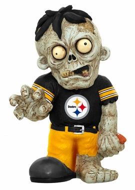 Pittsburgh Steelers 8.5 Inch Zombie Figurine