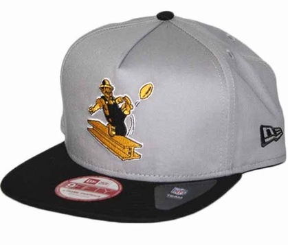 Pittsburgh Steelers 9FIFTY Throwback A-Tone Snapback Hat