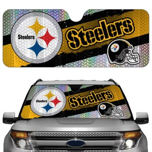 Pittsburgh Steelers Auto Sun Shade