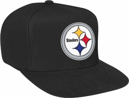 Pittsburgh Steelers Basic Logo Snap Back Hat (Black)