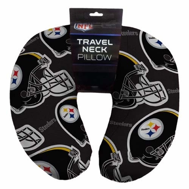 Pittsburgh Steelers Beaded Neck Pillow