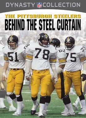 Pittsburgh Steelers Behind the Steel Curtain DVD