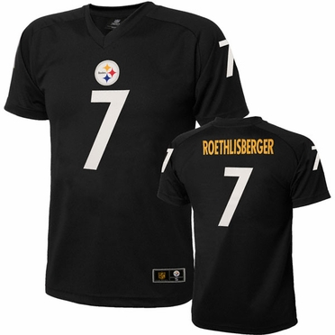 Pittsburgh Steelers Ben Roethlisberger Youth Performance T-shirt