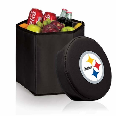 Pittsburgh Steelers  Bongo Cooler / Seat (Black)
