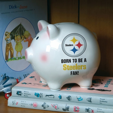 Pittsburgh Steelers (Born to Be) Piggy Bank