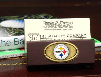 Pittsburgh Steelers Business Card Holder