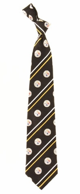 Pittsburgh Steelers Cambridge Woven Silk Necktie