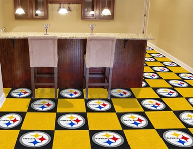 Pittsburgh Steelers Carpet Tiles