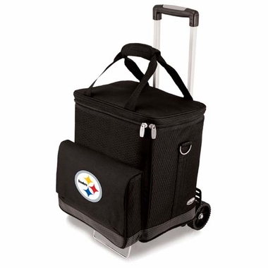 Pittsburgh Steelers Cellar w/Trolley (Black)