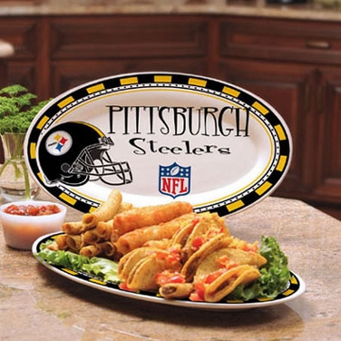 Pittsburgh Steelers Ceramic Platter