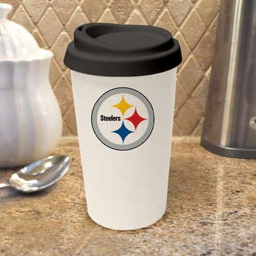 Pittsburgh Steelers Ceramic Travel Cup