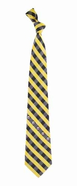 Pittsburgh Steelers Check Poly Necktie