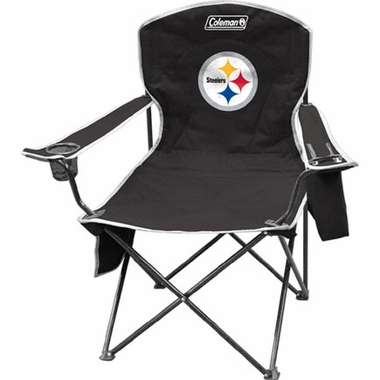 Pittsburgh Steelers Cooler Quad Tailgate Chair