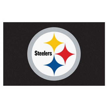 Pittsburgh Steelers Economy 5 Foot x 8 Foot Mat