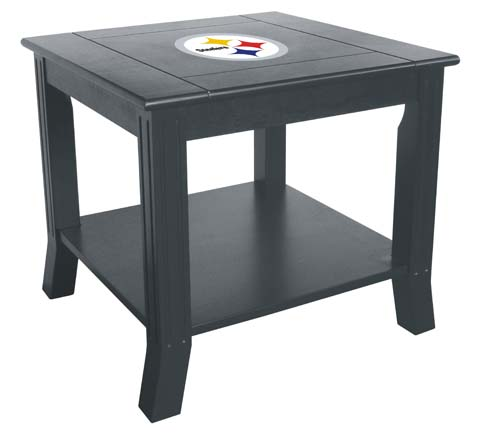 Dfw Furniture Pittsburgh: Pittsburgh Steelers End Table