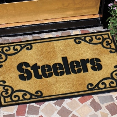 Pittsburgh Steelers Exterior Door Mat