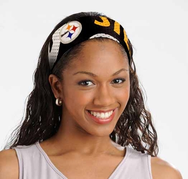 Pittsburgh Steelers FanBand Hair Band