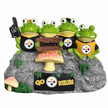 Pittsburgh Steelers Frog Fan Bench