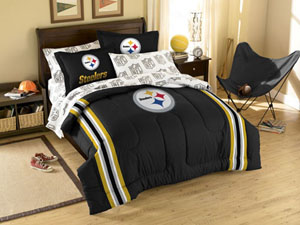 Pittsburgh Steelers Full Bed in a Bag