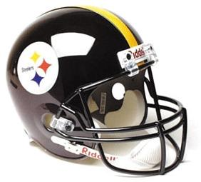 Pittsburgh Steelers Full Sized Replica Helmet