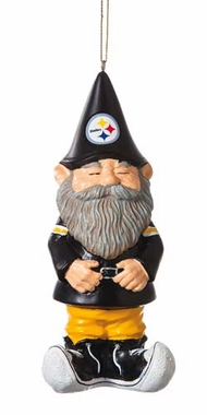 Pittsburgh Steelers Gnome Ornament