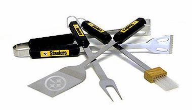 Pittsburgh Steelers Grill BBQ Utensil Set