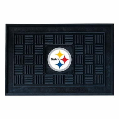 Pittsburgh Steelers Heavy Duty Vinyl Doormat