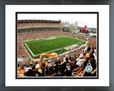 Pittsburgh Steelers Heinz Field 2008 16x20 Framed and Double-Matted Photo