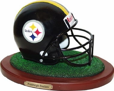 Pittsburgh Steelers Helmet Figurine