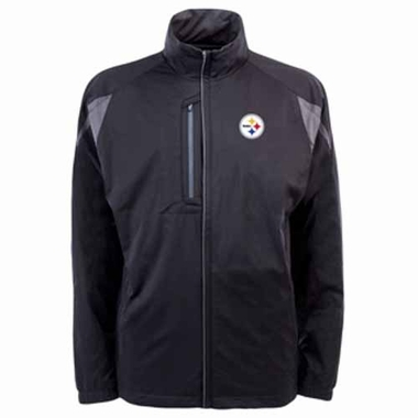 Pittsburgh Steelers Mens Highland Water Resistant Jacket (Team Color: Black)