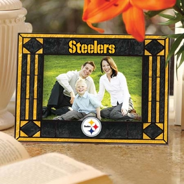 Pittsburgh Steelers Landscape Art Glass Picture Frame