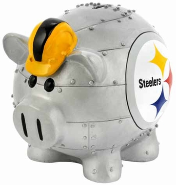 Pittsburgh Steelers Large Thematic Piggy Bank