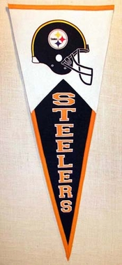 Pittsburgh Steelers Large Wool Pennant