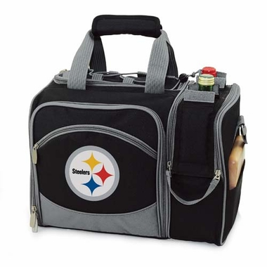 Pittsburgh Steelers Malibu Picnic Cooler (Black)