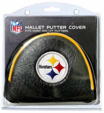 Pittsburgh Steelers Mallet Putter Cover