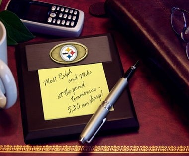 Pittsburgh Steelers Memo Pad Holder