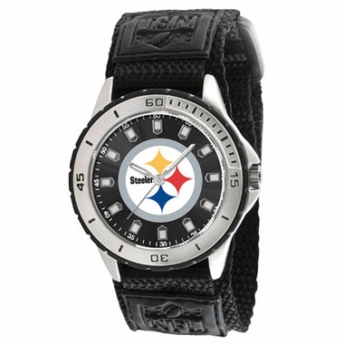 Pittsburgh Steelers Mens Veteran Watch