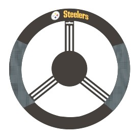 Pittsburgh Steelers Mesh Steering Wheel Cover