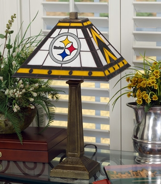 Pittsburgh Steelers Mission Lamp