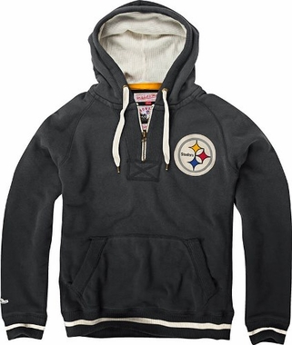"Pittsburgh Steelers Mitchell & Ness ""Field Goal"" Premium Heavyweight Sweatshirt"