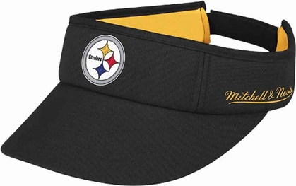 Pittsburgh Steelers Mitchell & Ness Throwback Adjustable Summer Visor